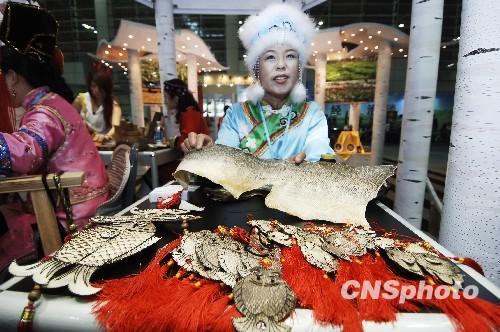 资料图:中国妇女创业创新成果展于6月18日至20日在福州展出