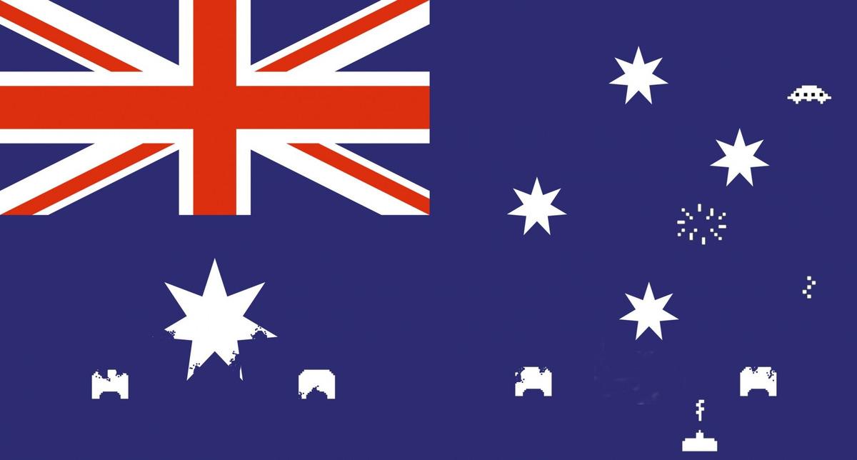 robert ash   设计者说:是时候从澳大利亚手里拿回我们的国旗了.