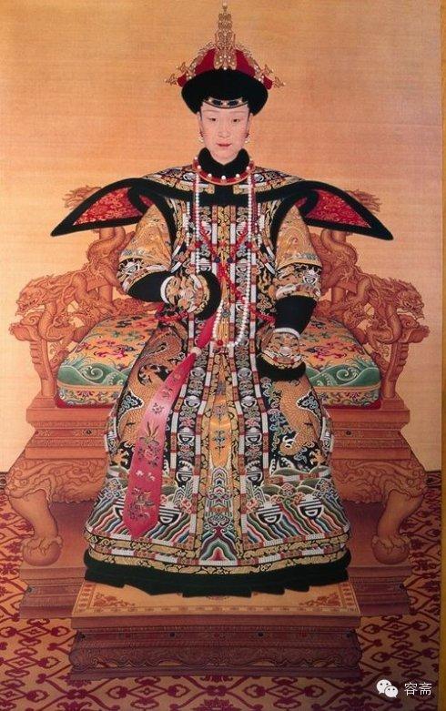 中国风 | 清朝历代皇后像图片