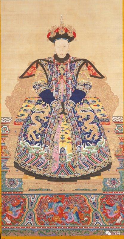 中国风   清朝历代皇后像图片