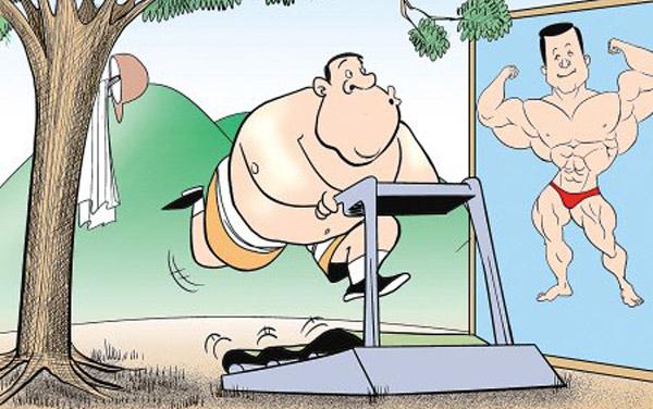 运动后出汗少能减肥吗图片