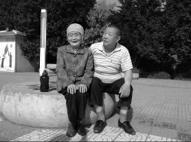 金悠久和母亲