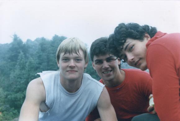 Tom、Steve和Kurt在1986年时的合影。