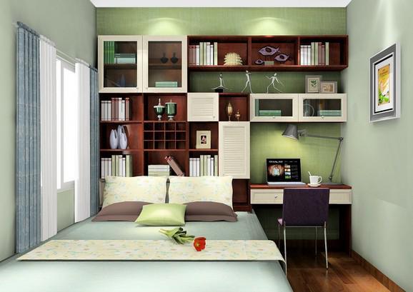 10平米次卧,小房间也能 妆 出大空间