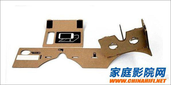 17块钱!自己DIY虚拟现实3D眼镜谷歌CardBoaerp沙盘图纸图片