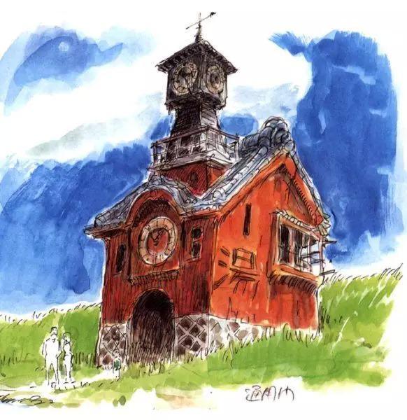 宫崎骏手稿原画珍藏之千与千寻