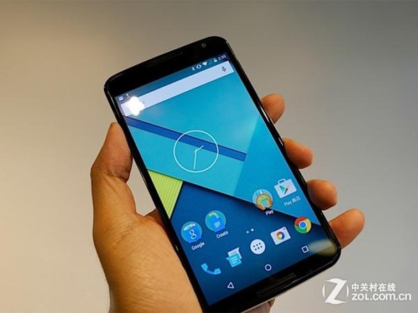 最新谷歌嫡子 摩托罗拉Nexus 6商家到货