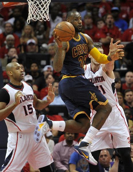 (体育)(5)篮球--NBA季后赛:东部决赛第一场骑士