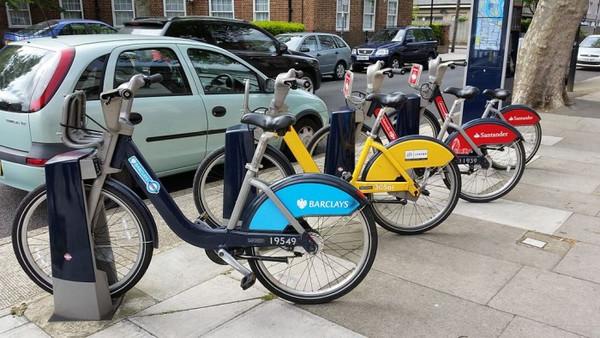 伦敦市长代言的公共自行车推出 App 啦