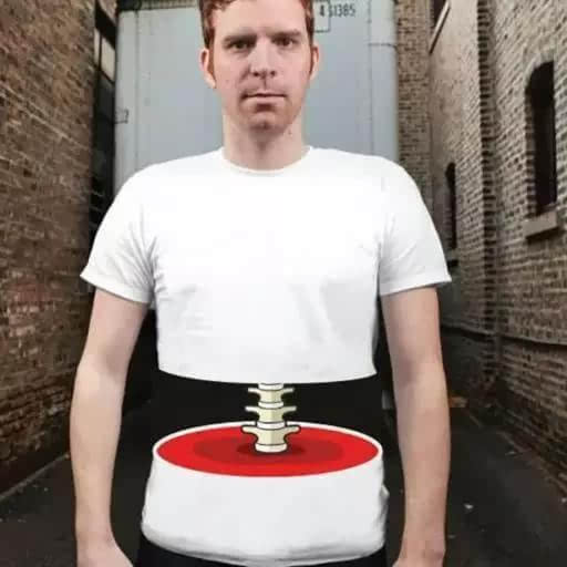 设计师从精神病院出来的吧,设计这么奇葩的衣服!图片