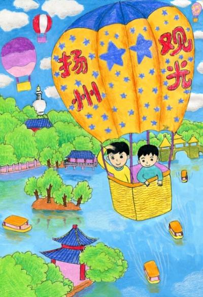 """""""向城庆献礼""""儿童绘画比赛 10幅优秀作品出炉(组图)图片"""