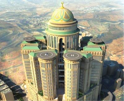 沙特将建成的全球最大旅店计划暗示图。图/东方IC