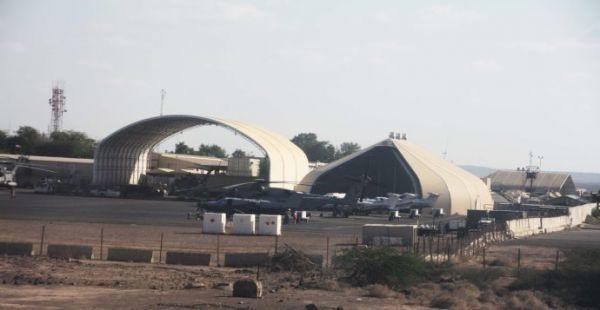 资料图:美军在吉布提的军事基地。