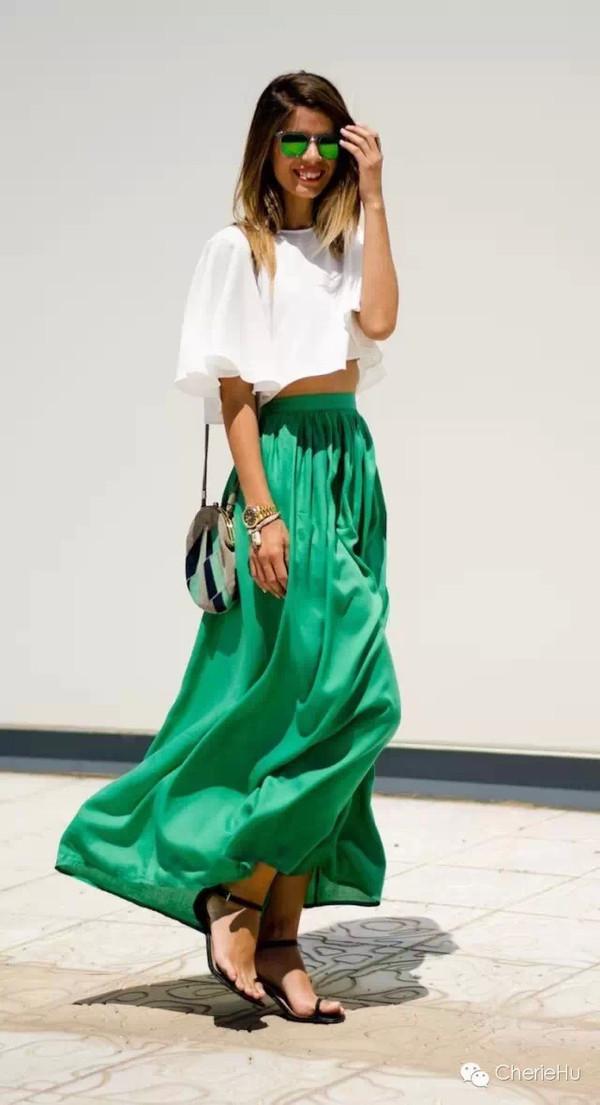 珍珠白+宝石绿