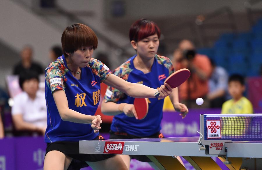 (体育)(7)乒乓球——乒超联赛:首钢主场告负(图)图片