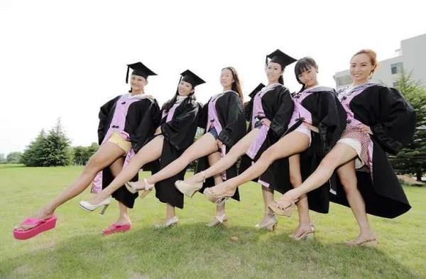 大学毕业照,没创意怎能叫青春
