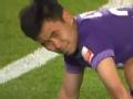 中超视频-郭皓拼抢脚踝受伤离场 申鑫VS泰达