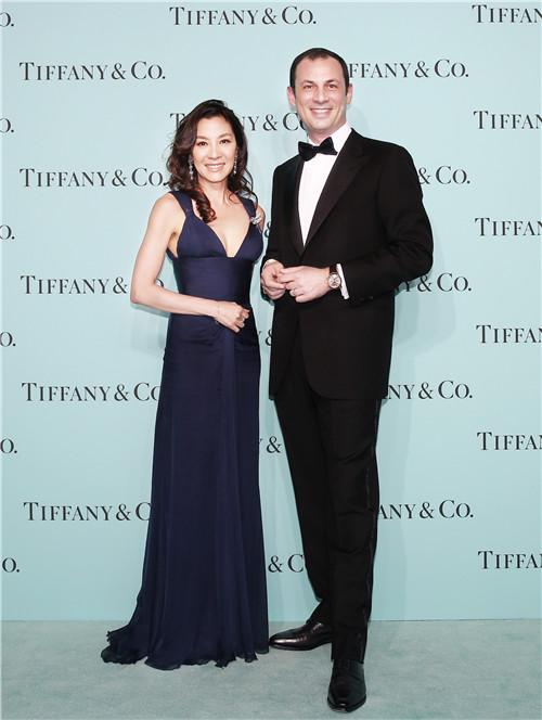 杨紫琼和蒂芙尼公司大中华区集团总裁乐康先生