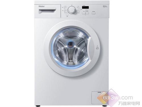 这款海尔(Haier)XQG60-1011W洗衣机的外观简洁大方。洗衣机配有hpm芯平衡系统,该系统可通过静态六点精确定位、动态偏心归零技术和薄壳仿生学设,使洗衣机运行平衡,不发生移位。
