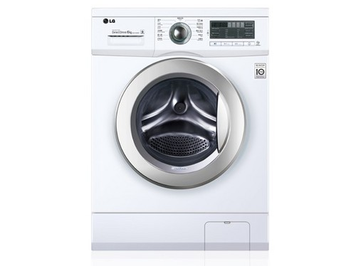 这款LG WD-N12430D滚筒洗衣机打出了1999元的超低价位,这个价位比格兰仕1999元的变频滚筒洗衣机更具有品牌优势。