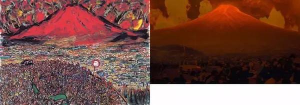 以下是黑泽明手绘画稿和剧照对比图: 导演:宫崎骏 hayao miyazaki