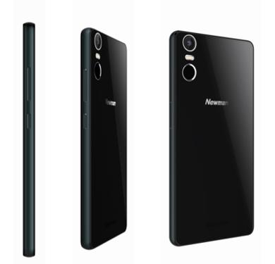 纽曼纽扣手机黑色版曝光:颜值再升级第1张图