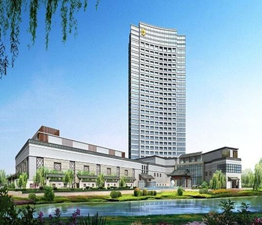 扬州香格里拉大酒店外景