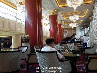 酒店内环境优雅安静,能让客队球员舒服的休息