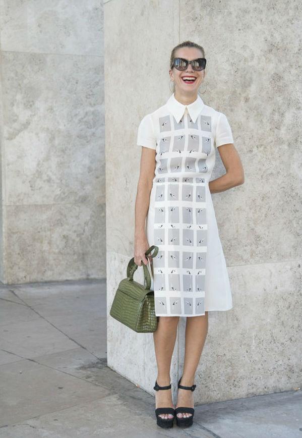 完美单品--衬衫裙