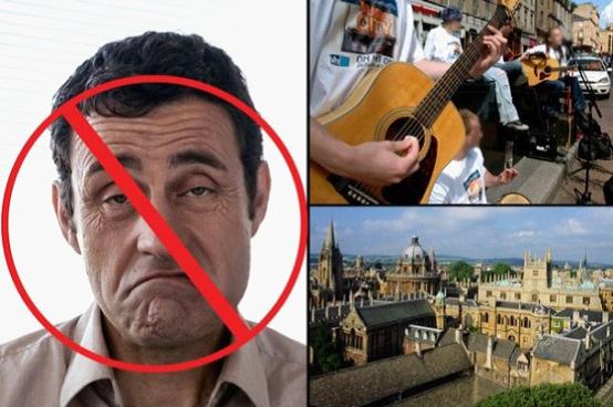 英国牛津市议管帐划推行陌头艺人新守则:卖艺者若是想要营生,必需展露微笑。