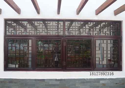 古典中式门窗,古典花窗,木雕花窗,屏风隔断,柱子,梁枋等木质构件要求图片