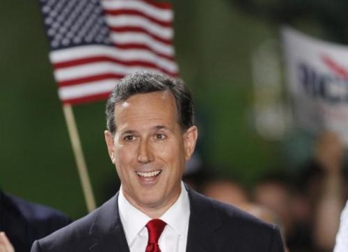 美国共和党人桑托勒姆宣布参加2016年美国总统大选。