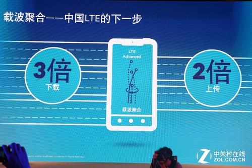 罗杰夫指出,中国接下来将要涉及到的载波聚合技术,将会使现有的智能手机下载速度获得3倍的提升,上传速度或者2倍的提升<b