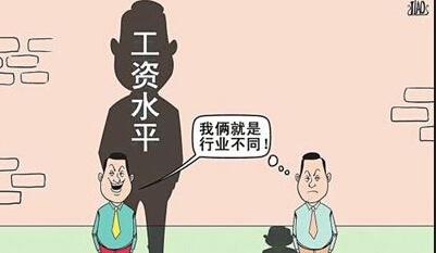 三,v差距和差距服务业漫画商务最大工资1龙猪图片