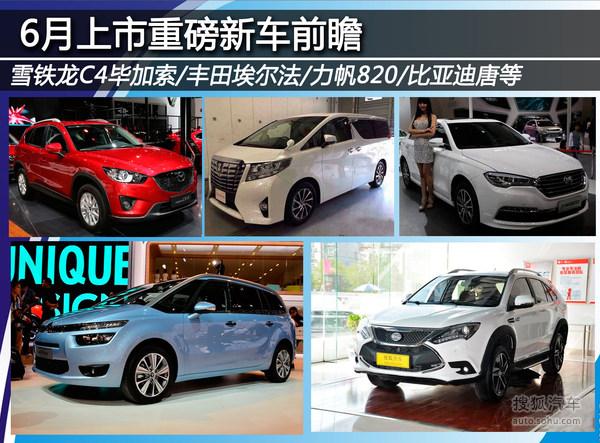 6月上市重磅新车前瞻C4毕加索/宝马1系等-搜狐汽车!!!對鍊刻字