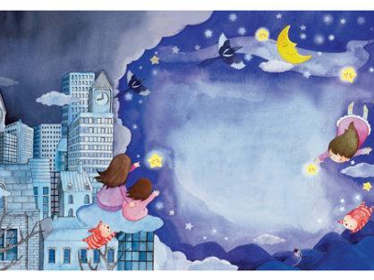 """准备   太阳,月亮,星星图片,字卡""""月亮""""""""星星"""".图片"""