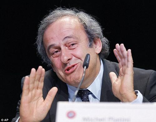 普拉蒂尼称欧洲或将集体退出FIFA