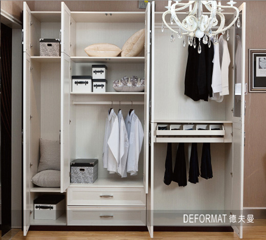 小房间衣柜内部格局