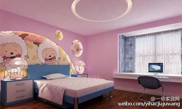 让儿童房的布置活泼有趣
