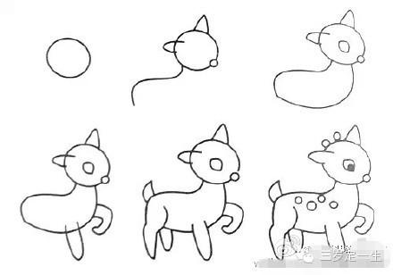 动物简笔画,妈妈必备技能