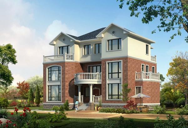 新农村自建别墅设计图纸大全 自建二层别墅设计