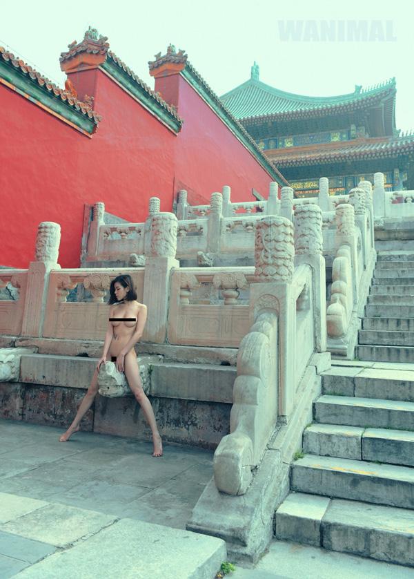最新大陆人体艺术摄影_在专访中,wanimal称,在旅游景区拍摄人体艺术照片\