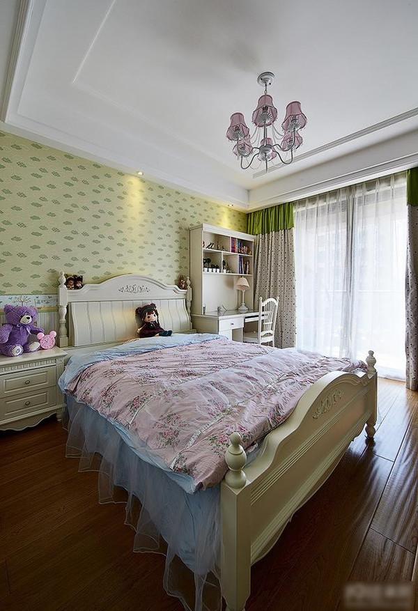 深圳海航城f户型样板房设计 175平欧式装修效果