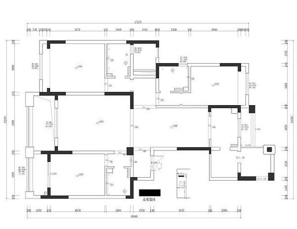 时尚 正文  原始结构图+平面布置图                厨房篇:接下来是