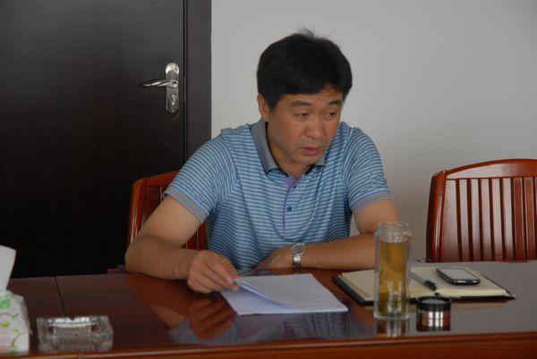 随州市交通运送局局长曹平。