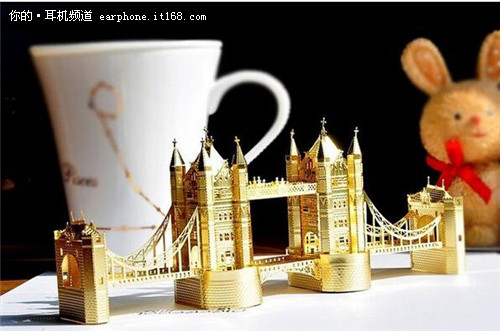 金属建筑模型