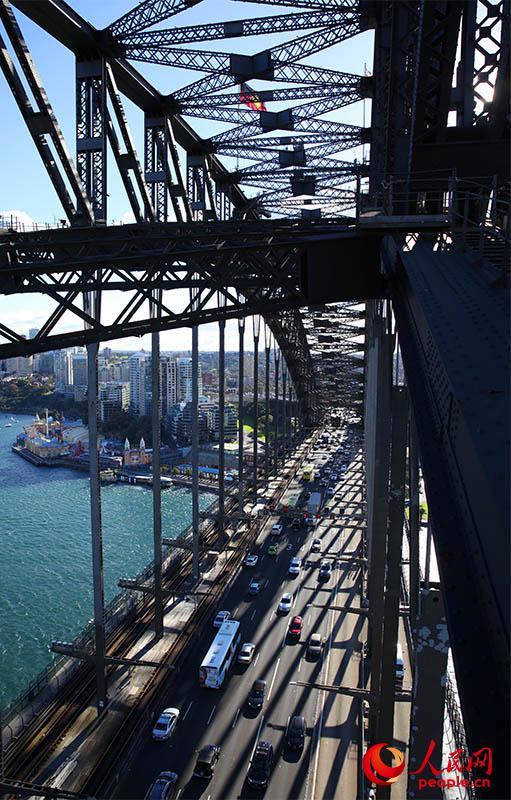 中澳青年领袖齐聚悉尼海港大桥启动 中澳千禧计划 组图