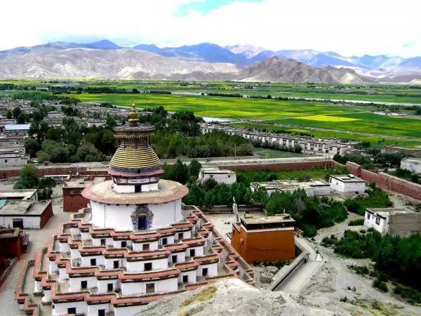 西藏江孜县英雄之城