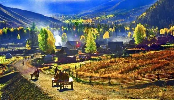 新疆布尔津县