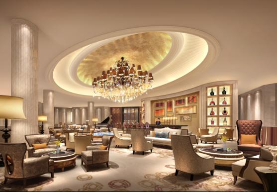 三间餐厅包括:锦厨全日制自助餐厅,设计同时体现欧式古典主义及后现代